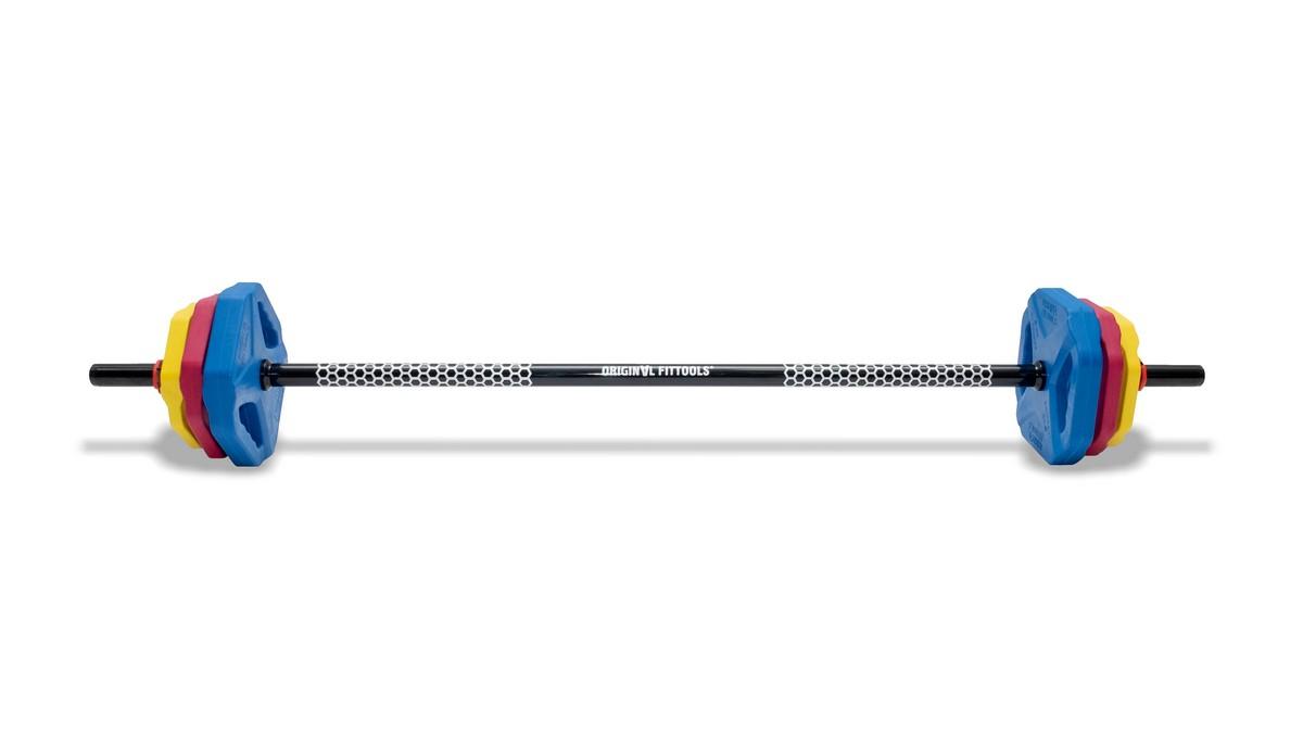 Купить Памп-штанга Original Fit.Tools PRO 20 кг FT-PUMP-SET-02,