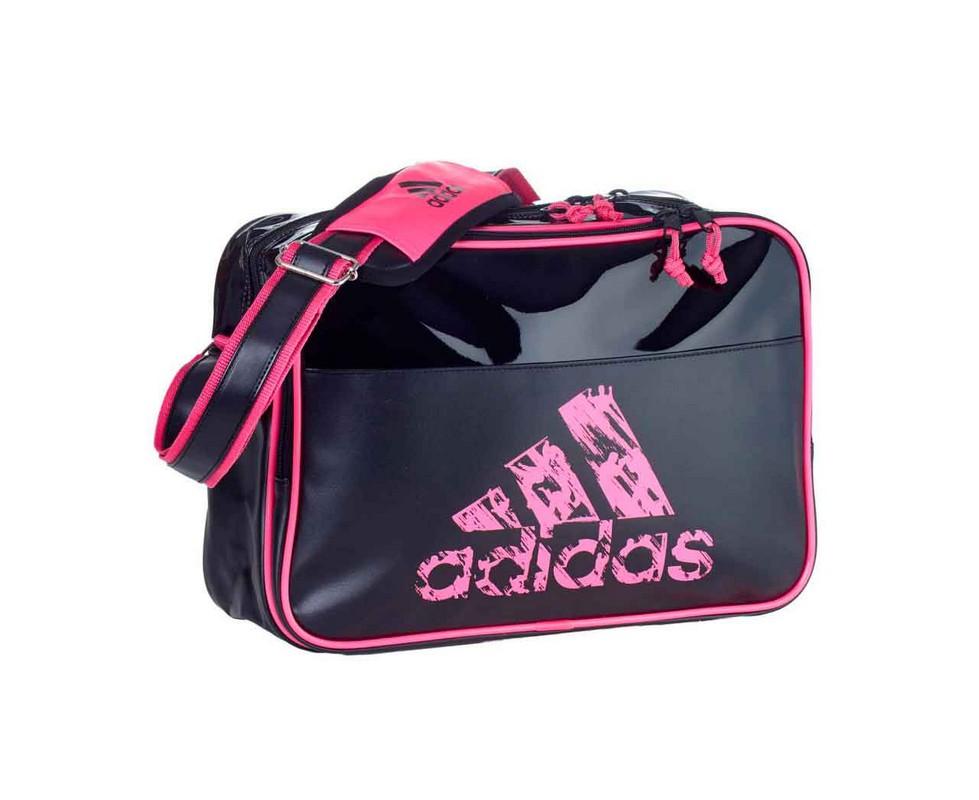 Сумка спортивная Adidas Leisure Messenger S черно-розовая adiACC110CS3-S сумка спортивная everhill черно оранжевая 50л