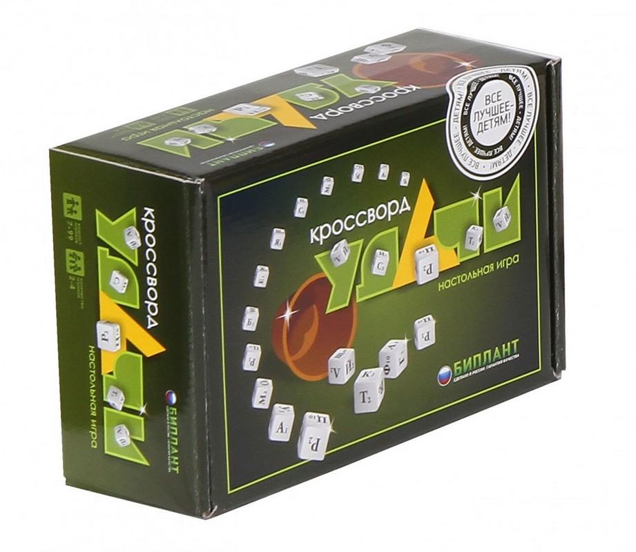 Настольная игра Кроссворд Удачи зеленый bp10037
