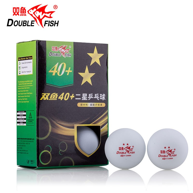 Мячи для настольного тенниса Double Fish 2 ITTF Appr мячи для настольного тенниса neottec neoplast training 6 шт