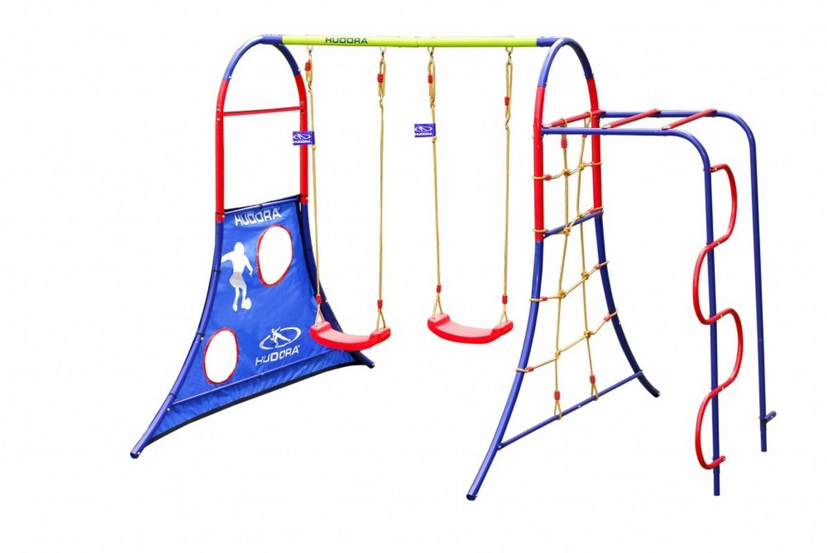 Игровой комплекс Hudora Spielplatz спортивные игровые наборы hudora спортивный игровой набор