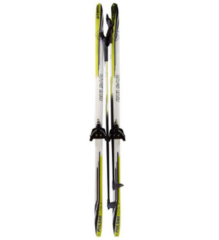 Лыжный комплект Atemi Pulsar Крепление: 75мм, wax