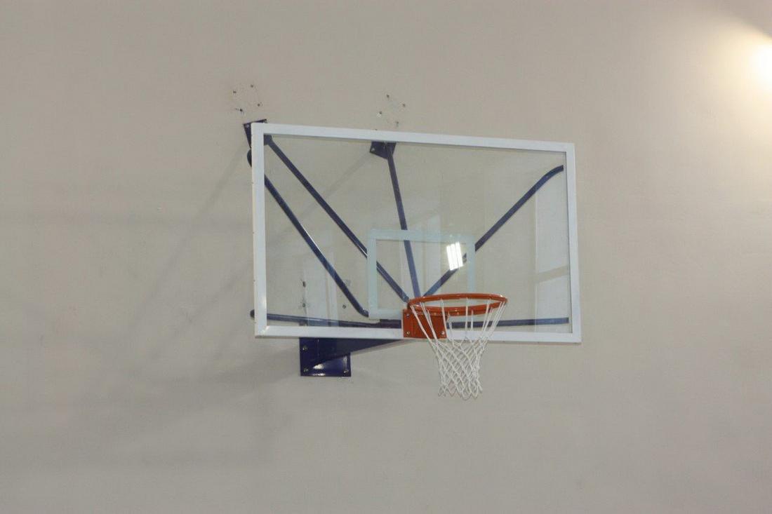 Щит баскетбольный ZSO, профессиональный СТЕКЛО 10 мм, TB 8103 с ударопрочной пленкой от Дом Спорта