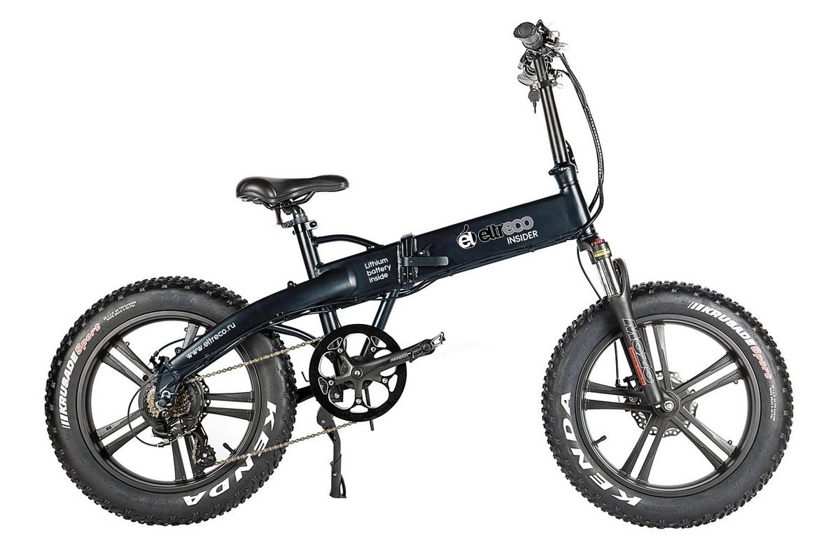 Велогибрид Eltreco Insider dark grey