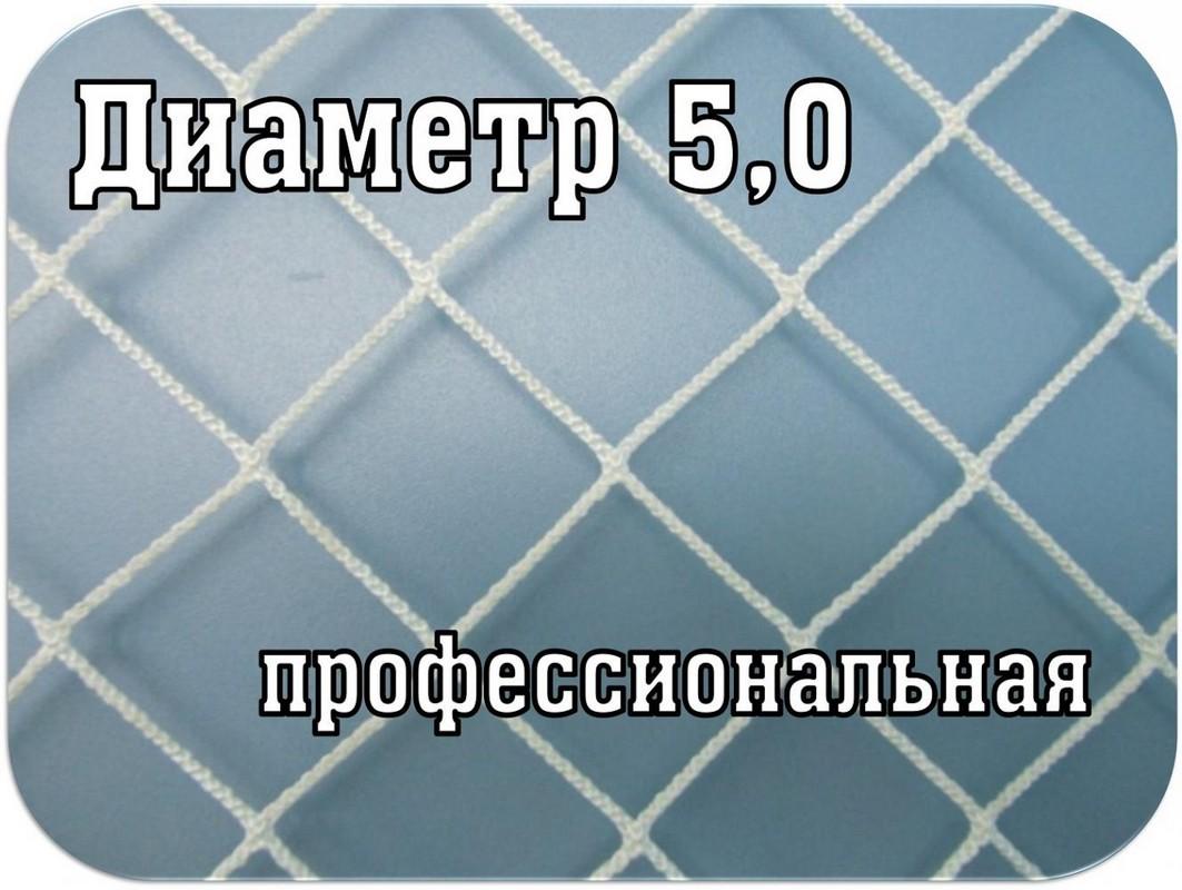 Купить Сетка для хоккея SG профи d=5,0мм SG-559,