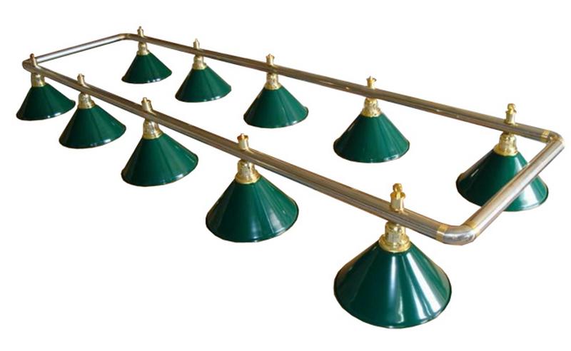 Лампа на десять плафонов Evergreen 75.008.10.0