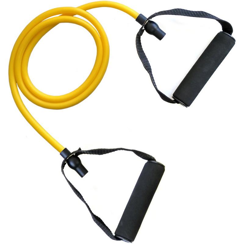 Купить Эспандер для степа 1-GY ТПР 6 х 9 1200 мм (желтый) MCE202-1, NoBrand