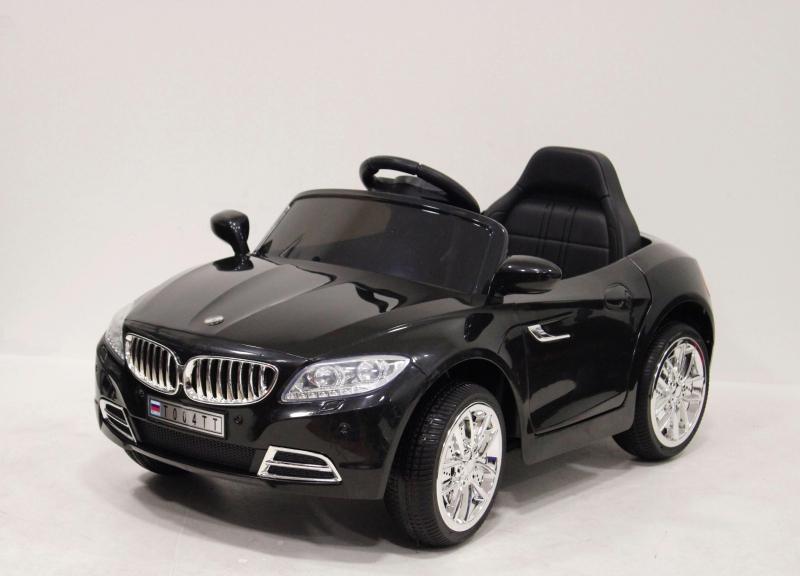 Детский электромобиль River-Toys Mercedes T007TT черный с ДУ