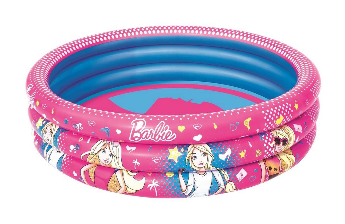 Купить Детский круглый бассейн 122x30см Bestway Barbie 93205, Детские надувные бассейны