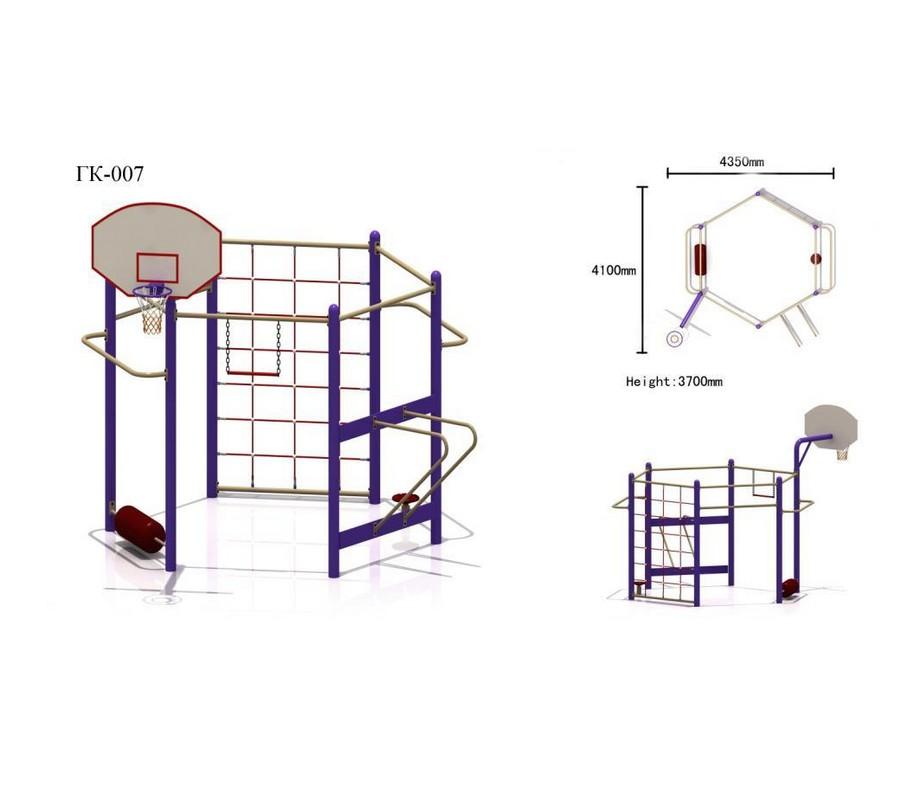 Купить Игровой спортивный комплекс Hercules ГК-07,