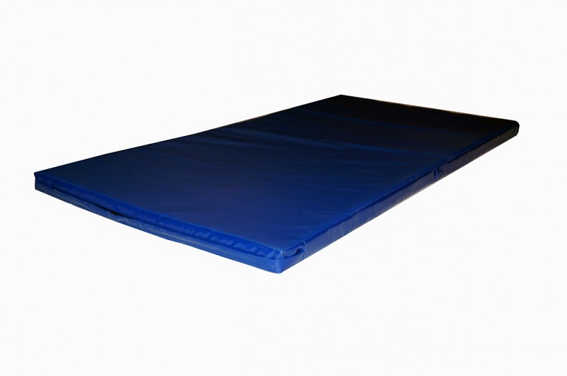 Купить Мат спортивный, жесткий 2х1х0,04м (ППЭ+ППЭ 160кг/м3, иск. кожа), NoBrand
