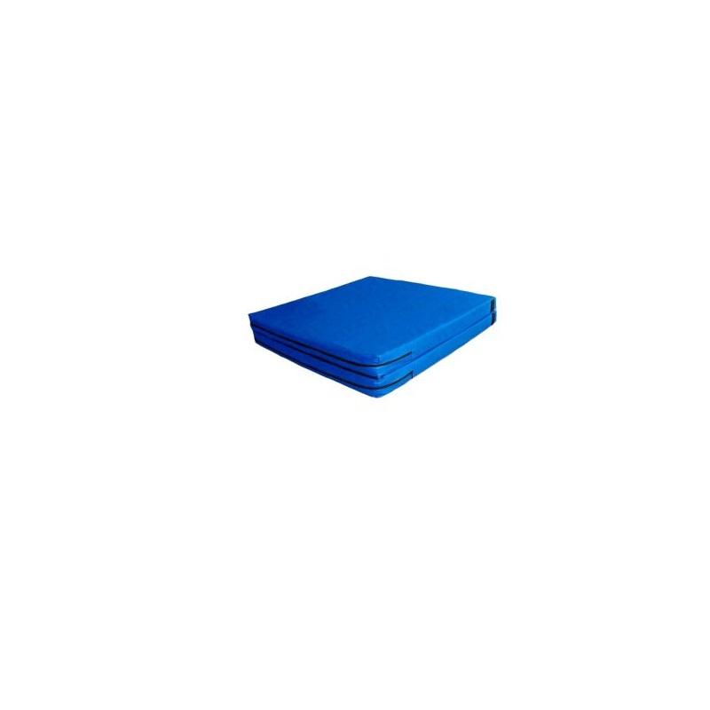 Мат гимнастический складной 100х200х10см Ellada плотность 22 кг/м3, винилискожа, на молнии УТ1215