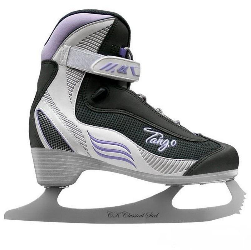 Фигурные коньки СК Tango фиолетовый коньки larsen коньки фигурные red flake
