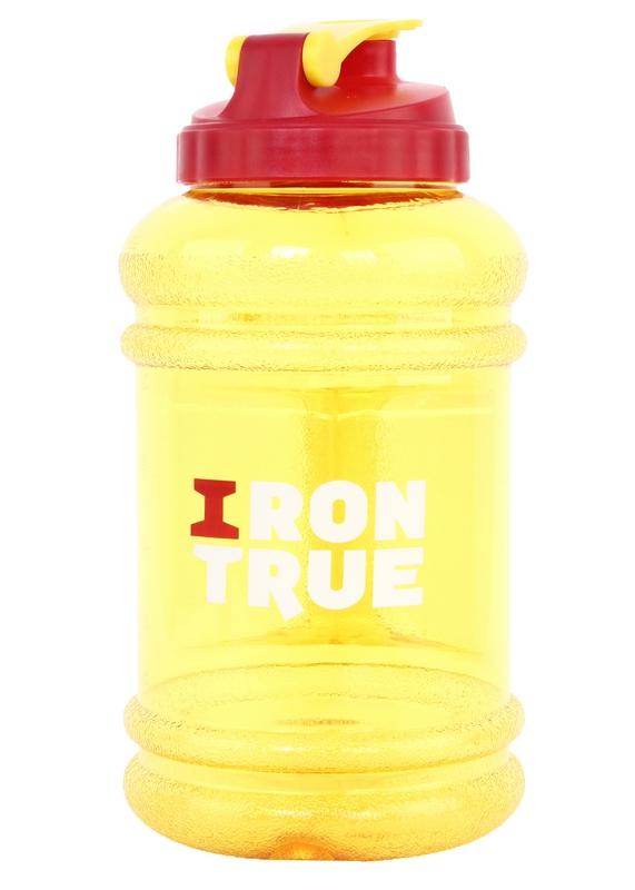 Бутылка 2,2л ITB941-2200 красно/желтый бутылка спортивная irontrue цвет розовый 2 2 л itb931 2200