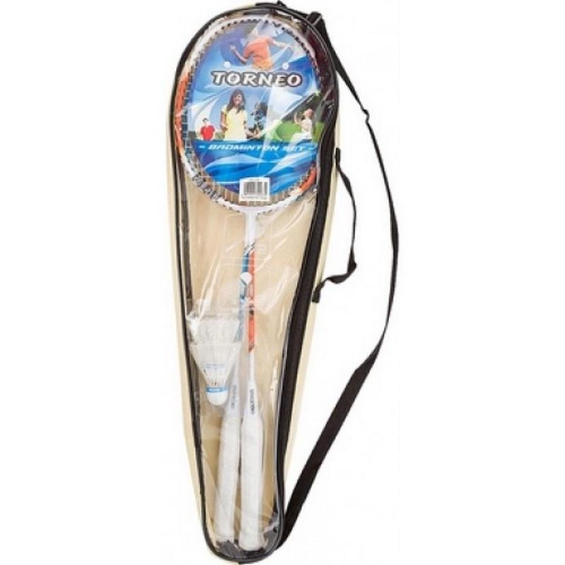 Набор для бадминтона Torneo HS-209 (2 ракетки, 2 волана, чехол)