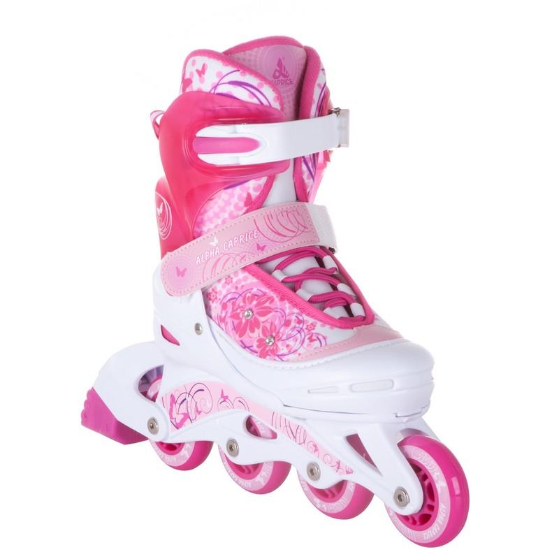 Картинка для Раздвижные роликовые коньки Alpha Caprice Venera Pink