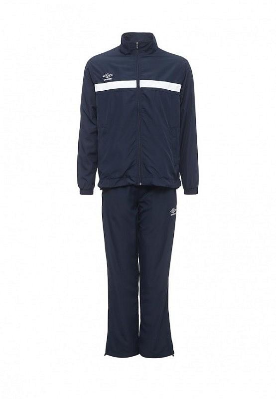 Костюм спортивный Umbro Smart Lined Suit мужской 462016 (091) т.син/бел.