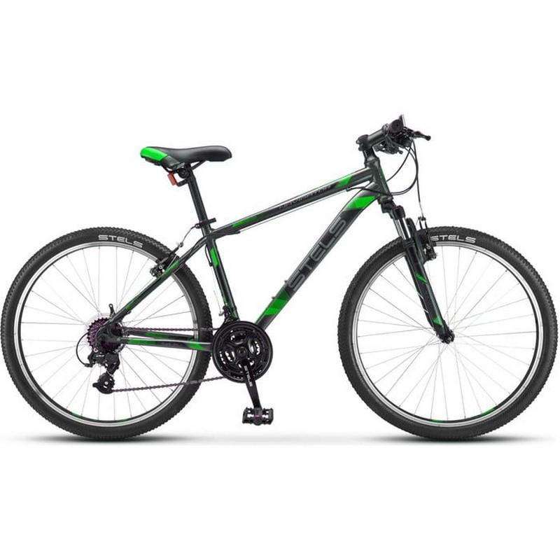 Купить Велосипед Stels Navigator 500 V V030 2019 ЧерныйЗелёный (LU093441),