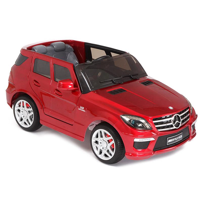 Электромобиль Joy Automatic Mercedes Benz ML63 металлик с пультом BT  (лицензия)