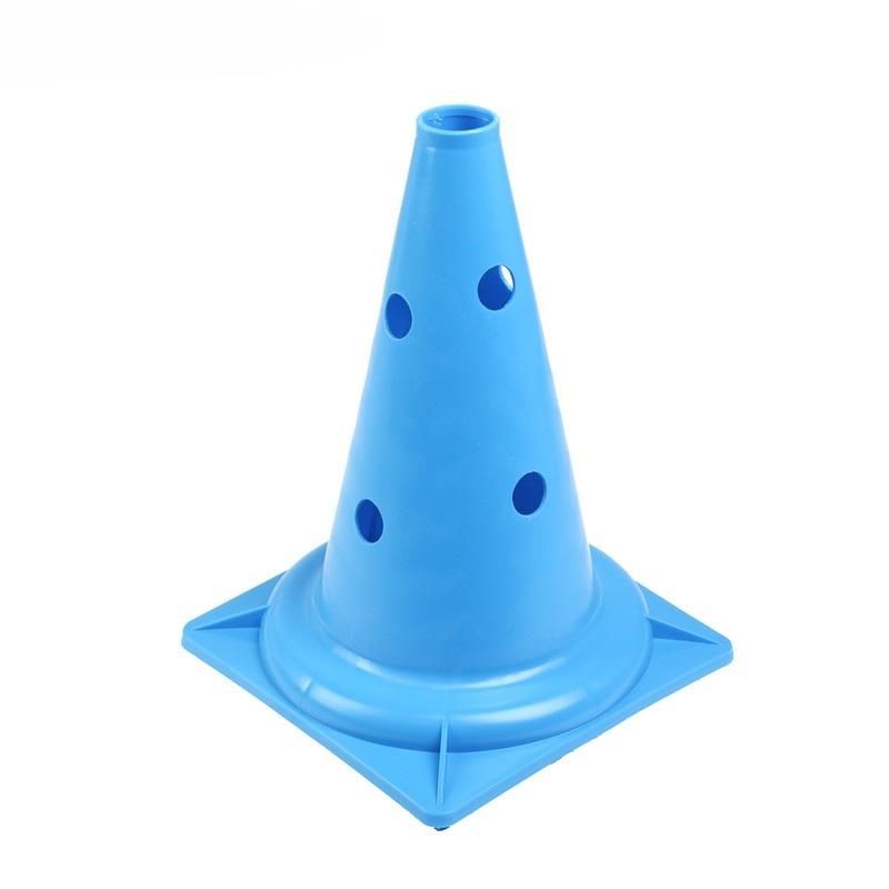 Конус с отверстиями У848 (голубой) 35 см