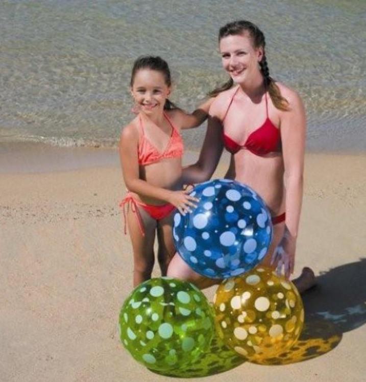 Мяч надувной Intex 51см 31013 надувной матрас camping mats 127х193х24см intex