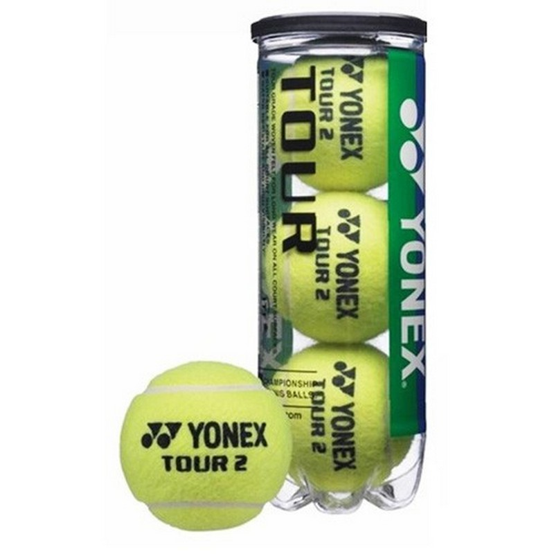 Картинка для Мяч теннисный Yonex Tour, уп.3 шт, офиц. мяч SAP Open ATP World Tour Event