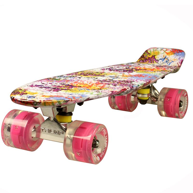 Купить Скейтборд Triumf Active 22 TLS-401G Sweety во2930,