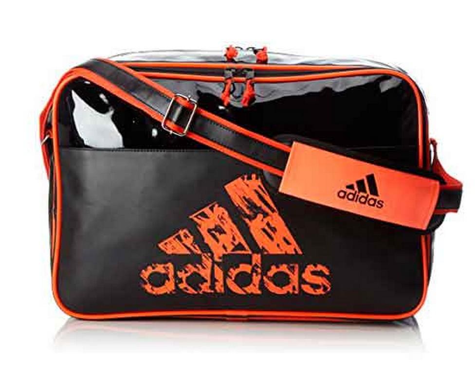 Сумка спортивная Adidas Leisure Messenger S черно-оранжевая adiACC110CS3-S сумка спортивная everhill черно оранжевая 50л