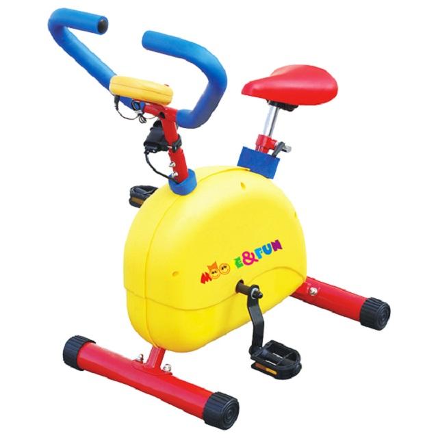 Велотренажер детский механический с компьютером Moove Fun SH-02C