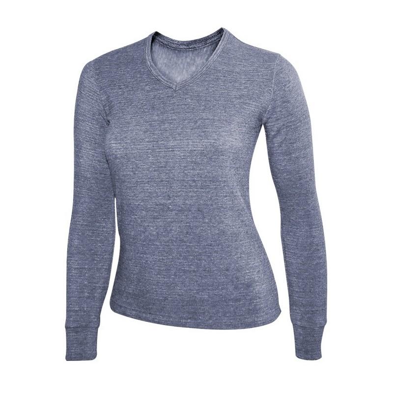 Фуфайка Laplandic L21-9251S/GY женская серая кальсоны мужские laplandic цвет серый l21 9250p gy размер 4xl 60
