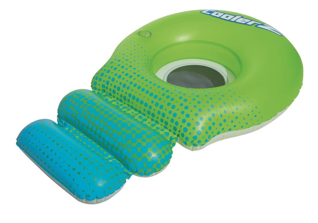 Надувной шезлонг Bestway для отдыха на воде, 188х115см 43138,  - купить со скидкой