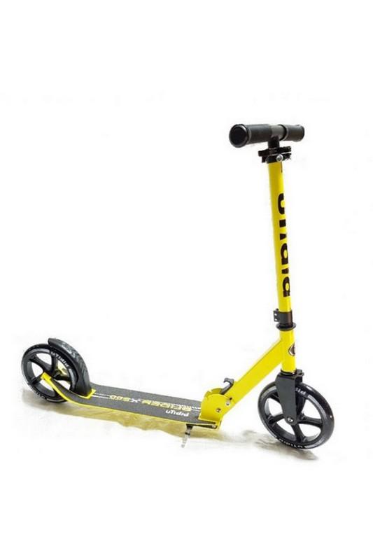 Купить Самокат BiBiTu Slider SKL-037 желтый неон,