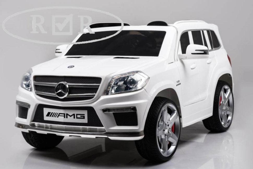 Детский электромобиль River-Toys Mercedes-Benz GL63(LS628) белый с ДУ