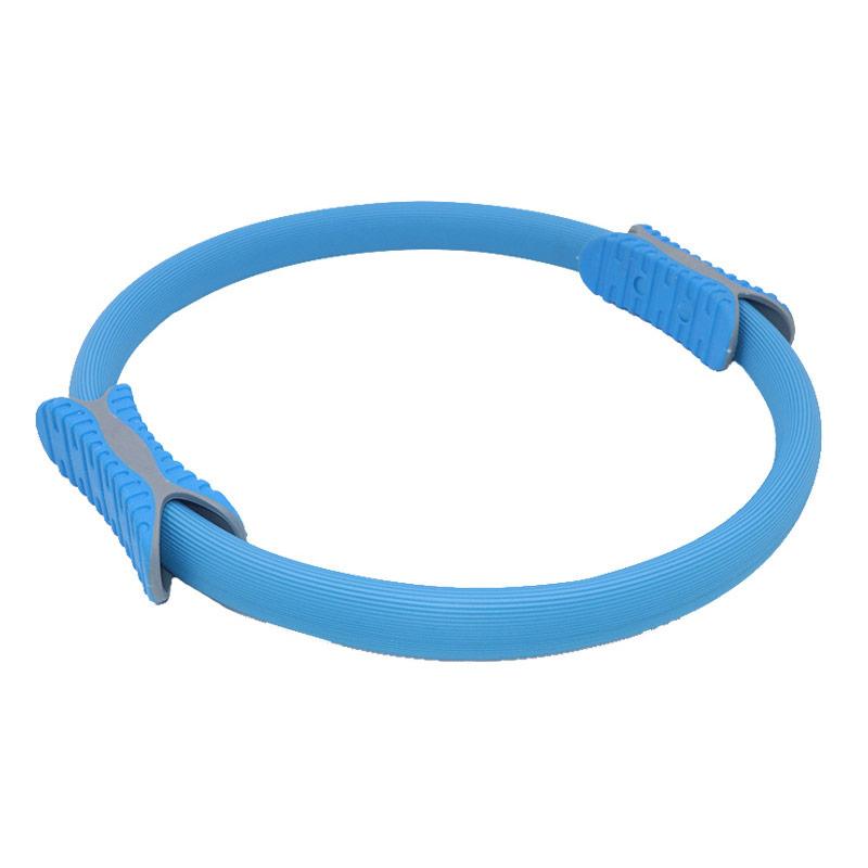 Купить Кольцо эспандер для пилатеса 38 см B31278-2 синее, NoBrand