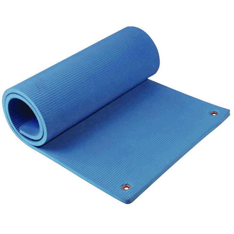 Гимнастический эко-мат Aerofit FT-EM-F180-12-VL синий складной коврик для аэробики aerofit em rk 307e
