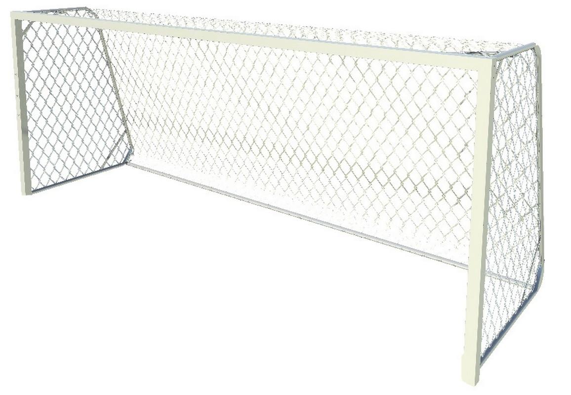 Купить Ворота футбольные алюм. юношеские SportWerk SpW-AS-500-1 (500x200) шт,