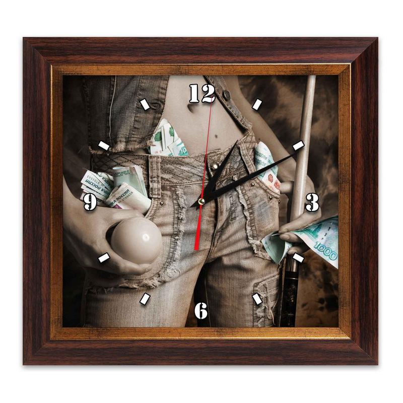 Часы AFG Бильярд AFG7810 38х41см