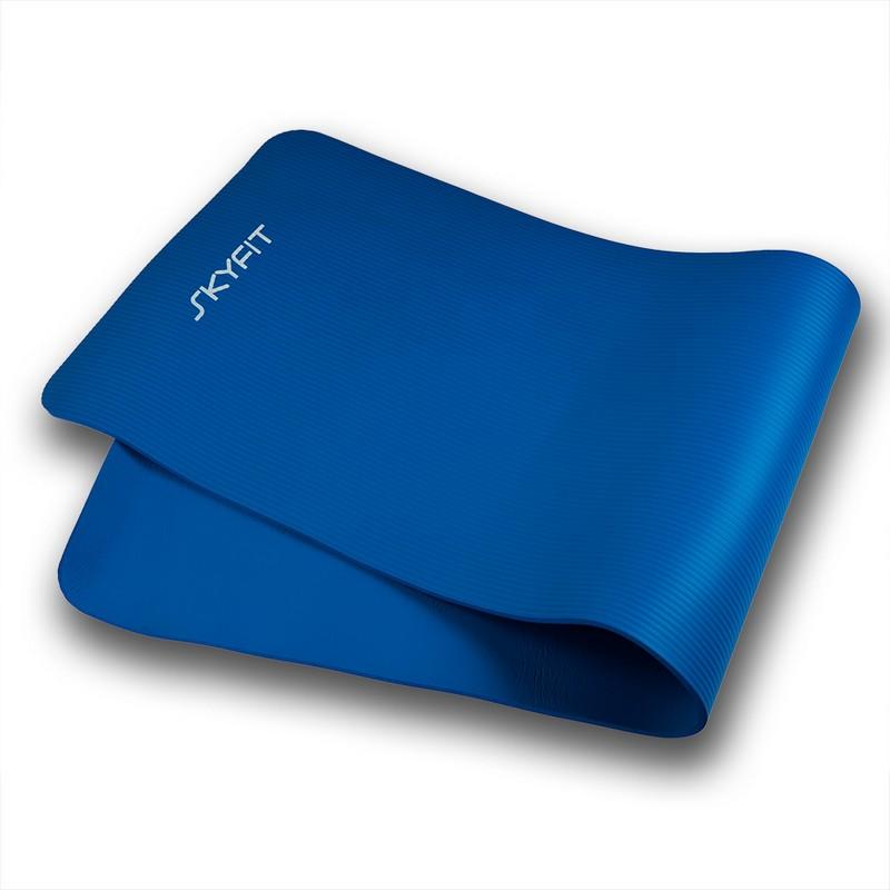 Купить Гимнастический коврик SkyFit 180х59х1см SF-GM180 синий,
