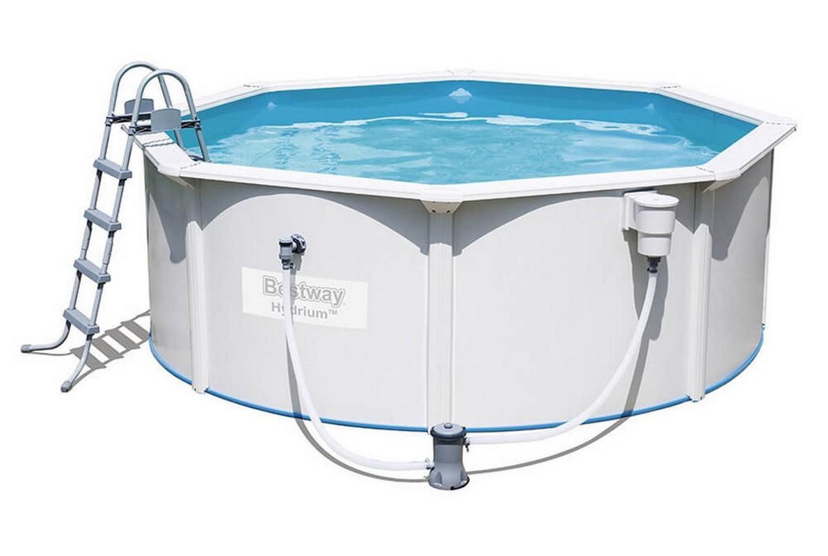 Купить Бассейн со стальными стенкам 366х122 см Bestway 56571,