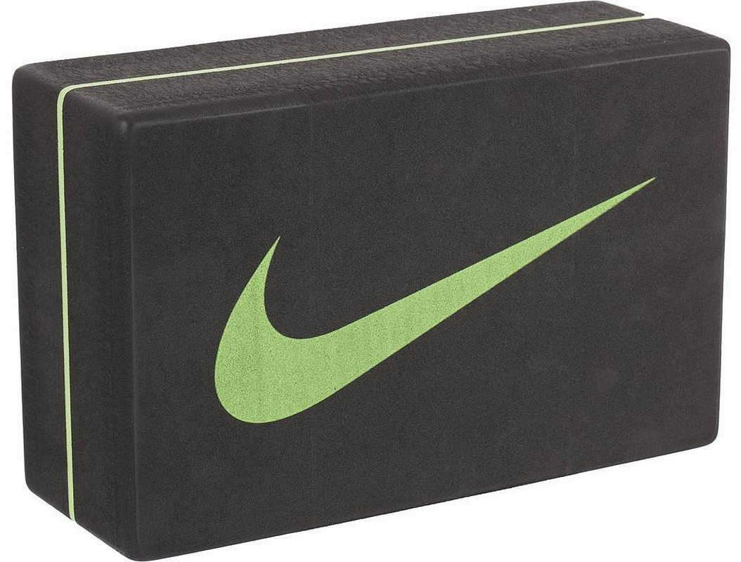 Блок для йоги Nike Essential Yoga Block Osfm Anthracite/Key Lime