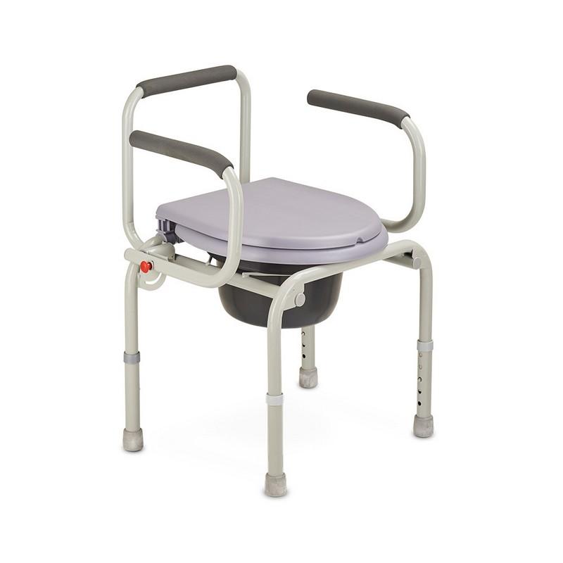 Кресло инвалидное с санитарным оснащением Armed ФС813