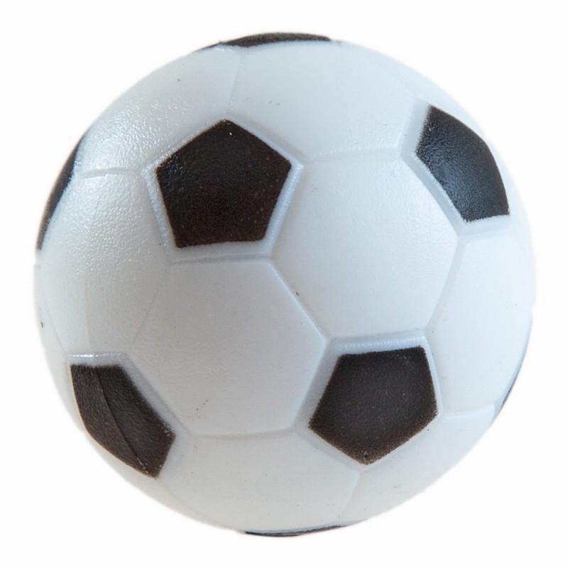 Купить Мяч для настольного футбола WBC текстурный пластик, D 36мм AE-01 черно-белый 51.000.36.2, Weekend, Аксессуары для настольного футбола