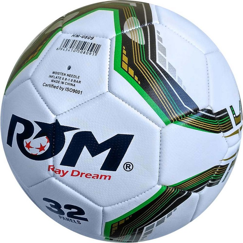 Мяч футбольный Sportex C28676-1 р.5 белый