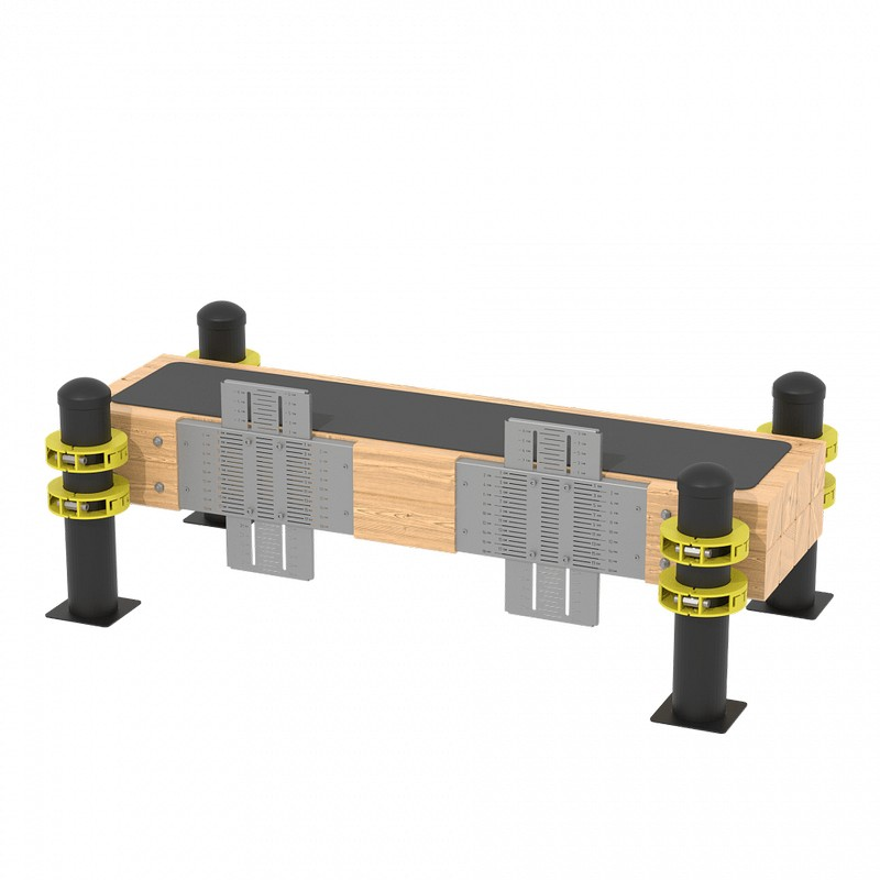 Купить Горизонтальная гимнастическая скамья Iron King GT05,