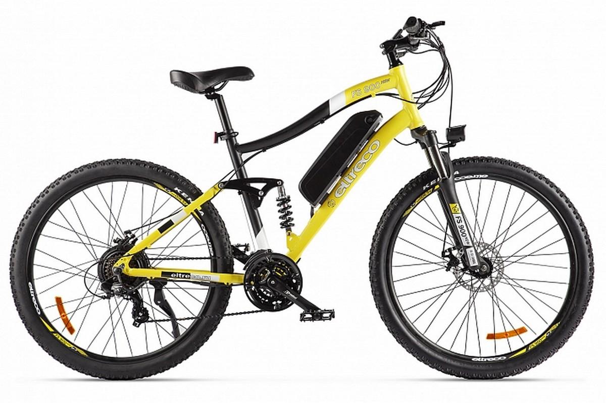 Велогибрид Eltreco FS900 new 022300-2211 желтый