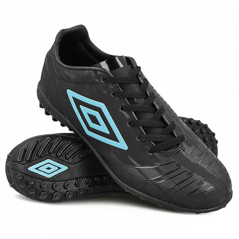 Бутсы Umbro UX Accuro Club TF 81186U-FAF черный-голубой