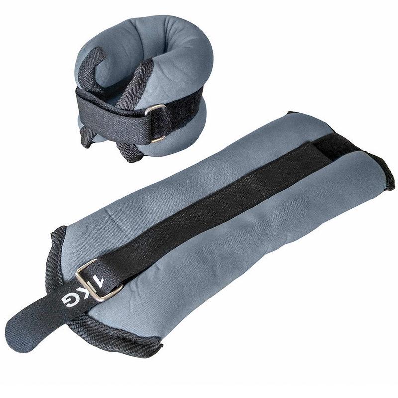 Купить Утяжелители ALT Sport HKAW101-2 (2х1,5кг), нейлон, в сумке (серые),