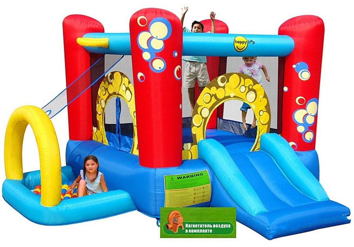 Детский Игровой центр 4 в1 Happy Hop Праздничные Пузыри 9214