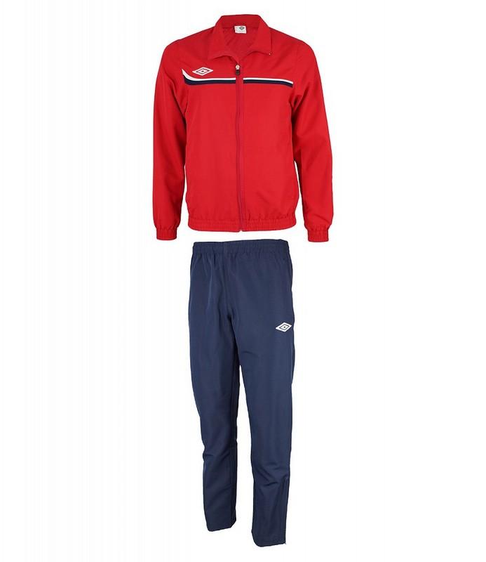 Костюм спортивный Umbro Lined Suit мужской 460113 (291) красн/т.син/бел.