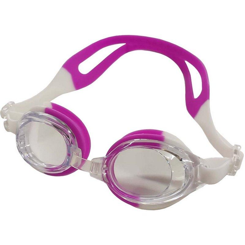 Купить Очки для плавания детские B31571 (бело-фиолетовые), NoBrand